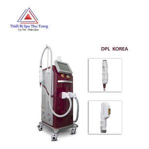 máy triệt lông xóa xăm DPL korea 2in1
