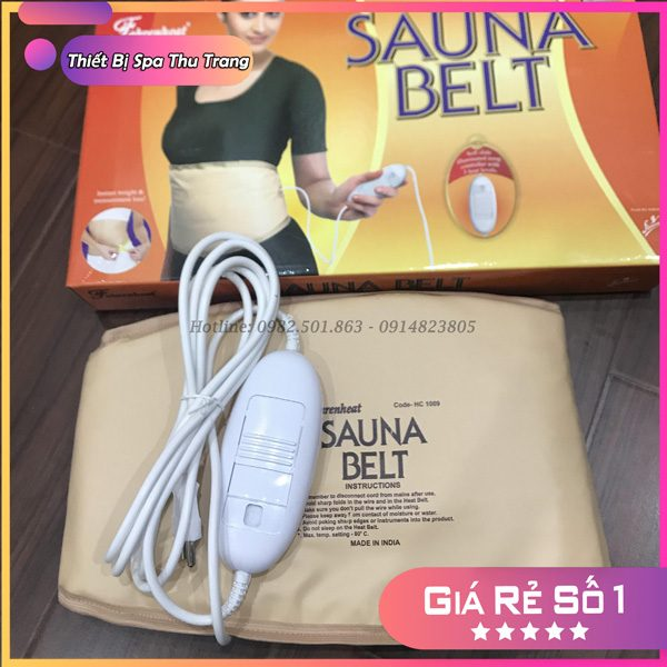 Đai quấn nóng Sauna belt