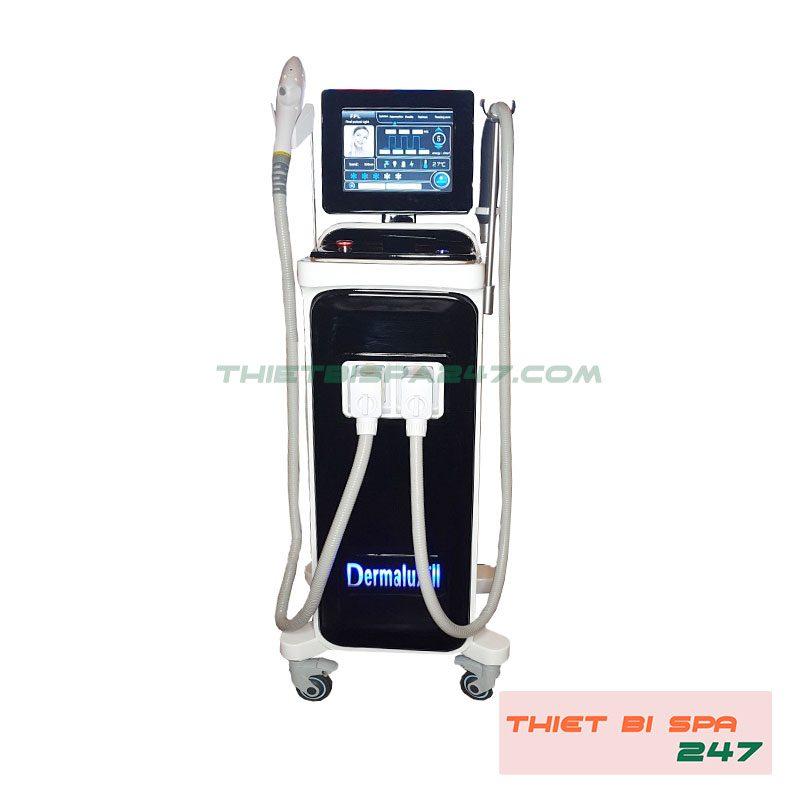 máy triệt lông dermalux 2
